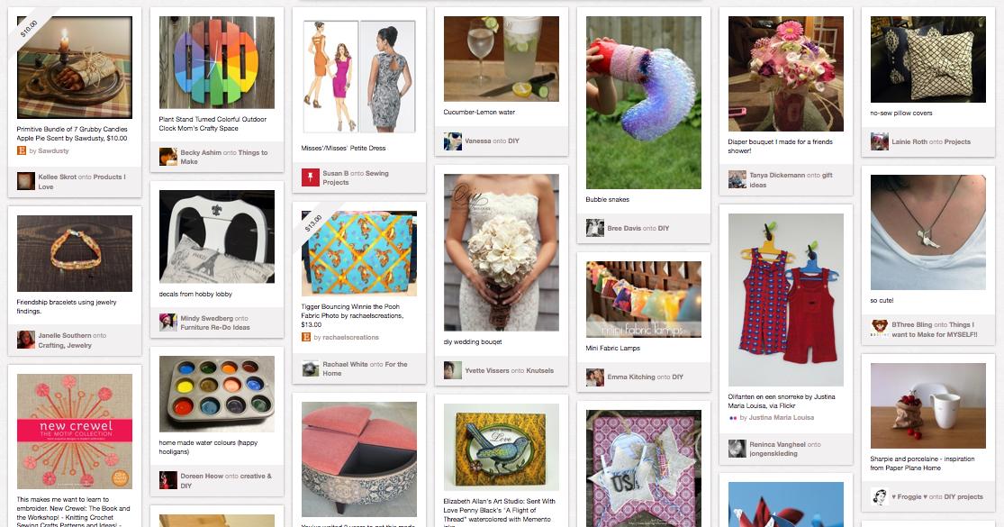 Pinterest Marketing Possibilites