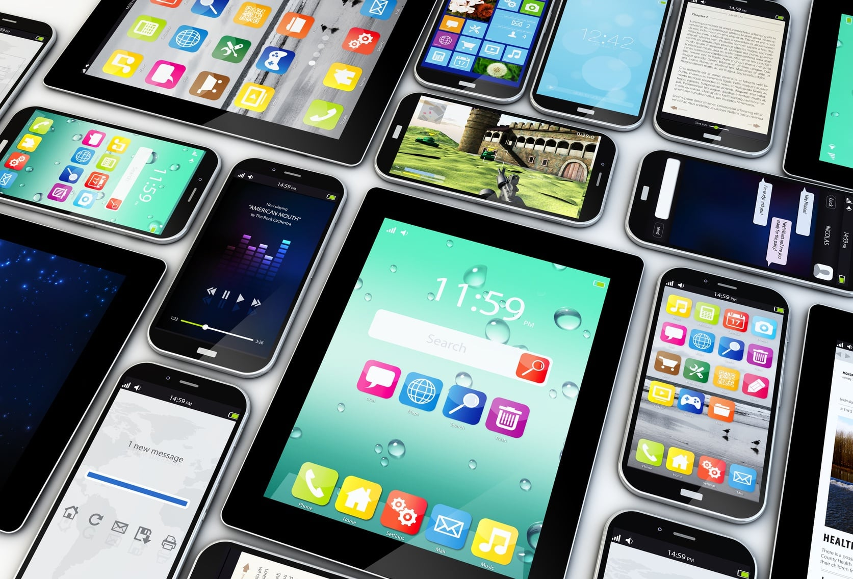 Use analytics to track audience data across mobile devices.