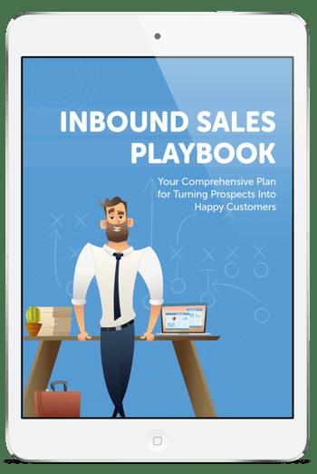 Inbound Sales Playbook 3D cover