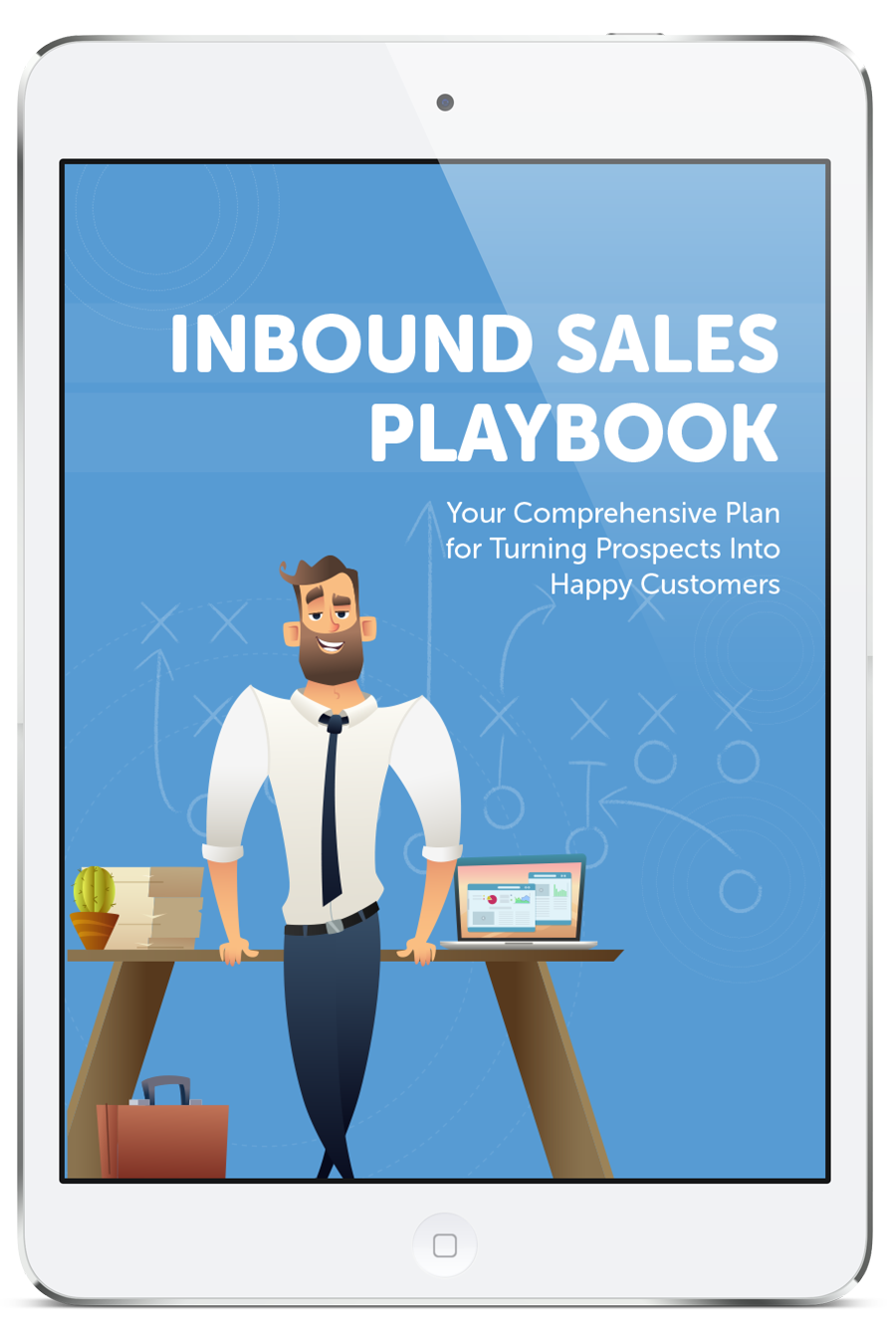 Inbound Sales Playbook 3D cover