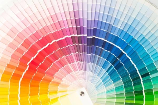 Color Palette for modern web design
