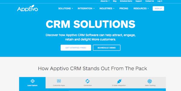Apptivo for CRM
