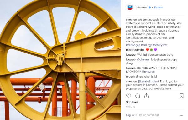 Chevron instagram photo