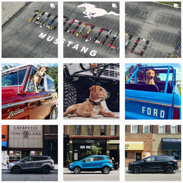 Ford instagram main