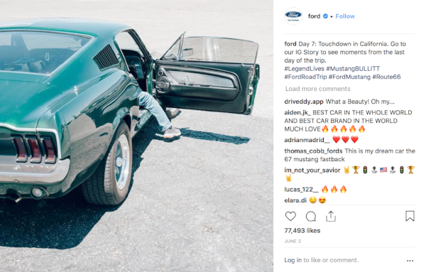 ford instagram photo