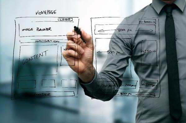 Add your blog in your website navigation menu