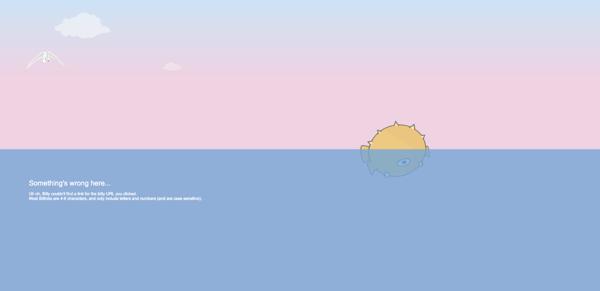 Bitly's 404 Page