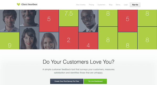 Client Heartbeat has a very robust customer feedback platform.