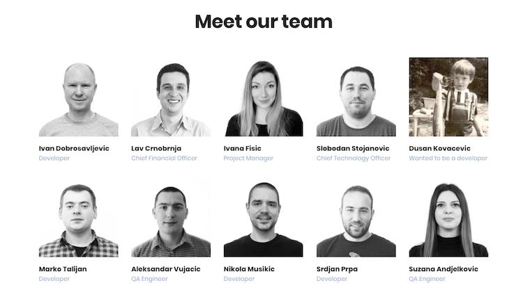CloudHorizon team page