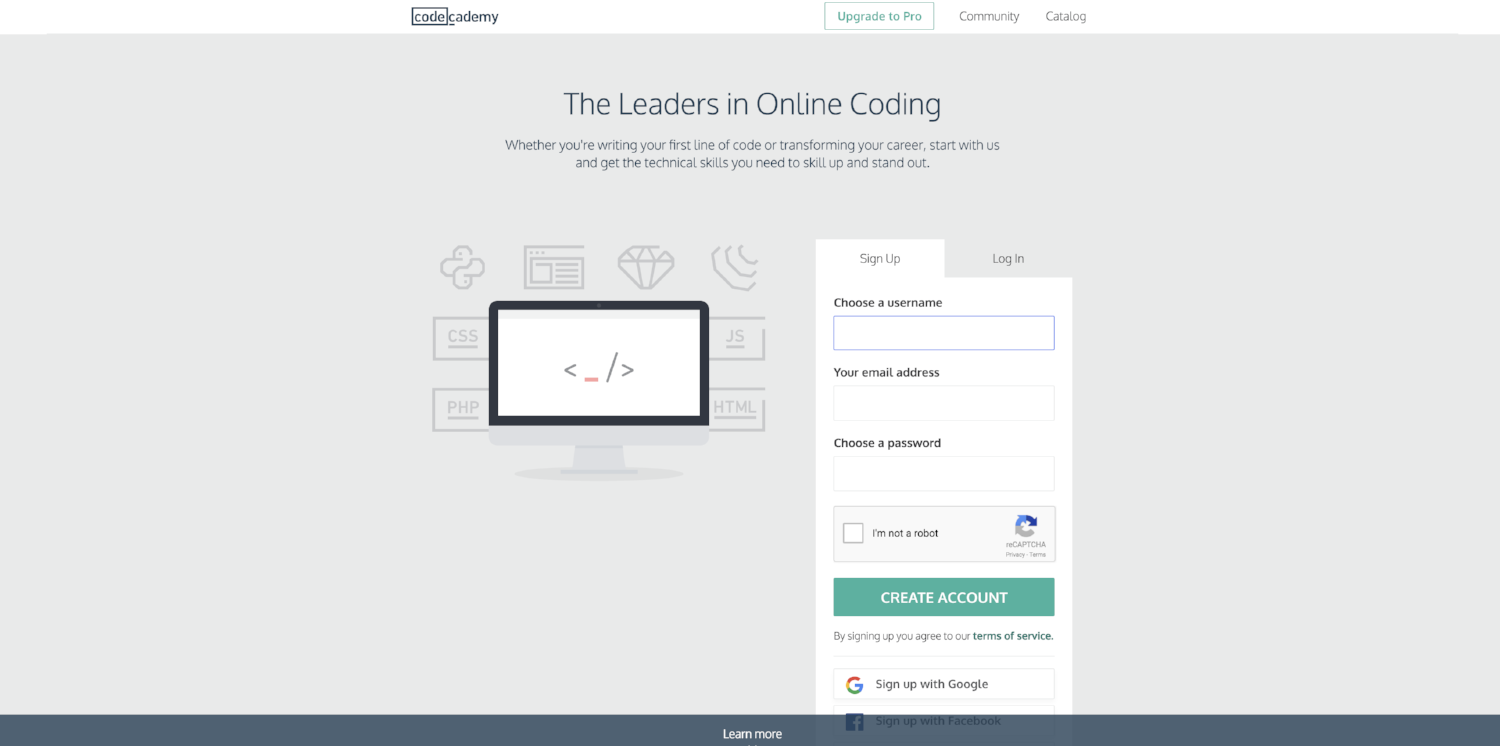 12 Of The Greatest Landing Page Examples & Expert Advice On