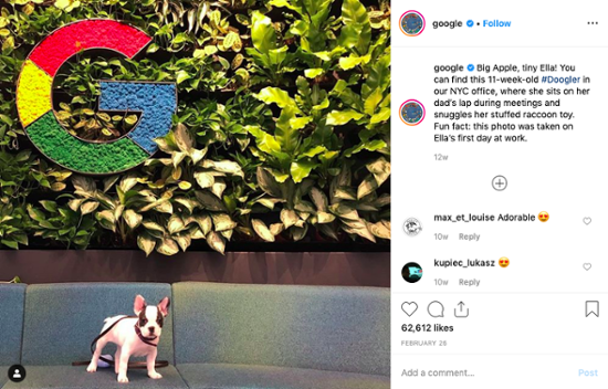 Google-company-culture-instagram