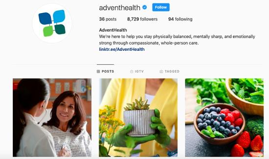 Healthcare-Social-Media-Instagram