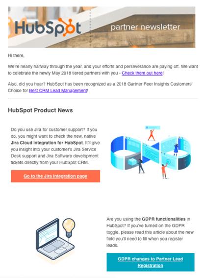 HubSpot-Newsletter