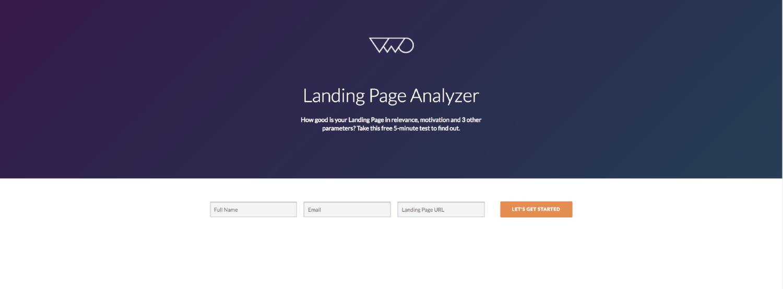 Landing Page Analyzer