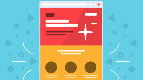 elements of a landing page to include