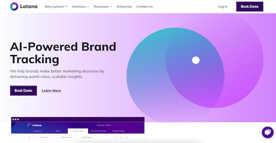 Latana homepage