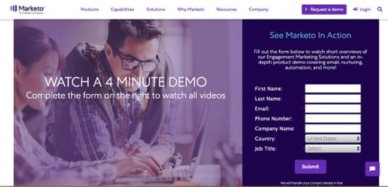 Marketo marketing software