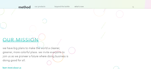 Method home page_mission section