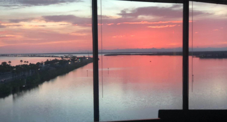 New Office Sunset