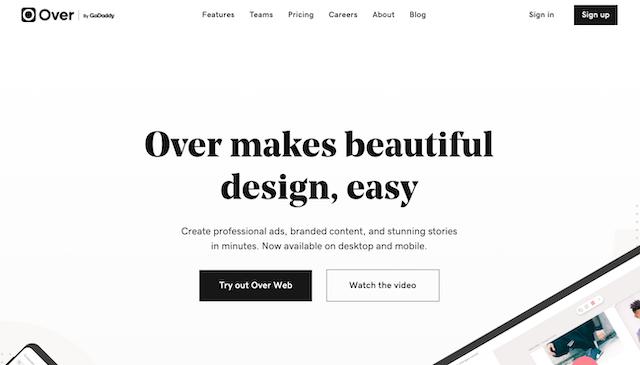 Over-social-design-app