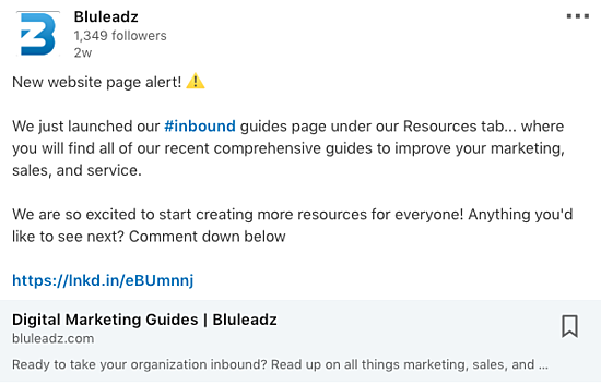 LinkedIn Company Page must haves