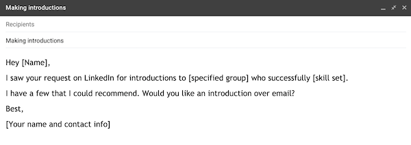 example of a prospecting email 4