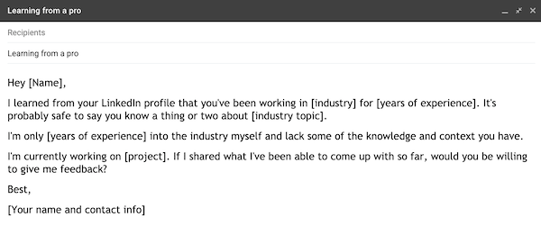 example of a prospecting email 5