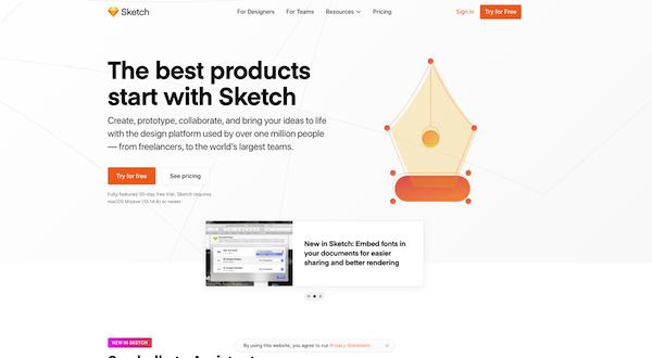 Sketch-website