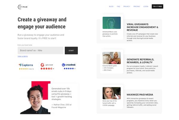 Vyper-homepage