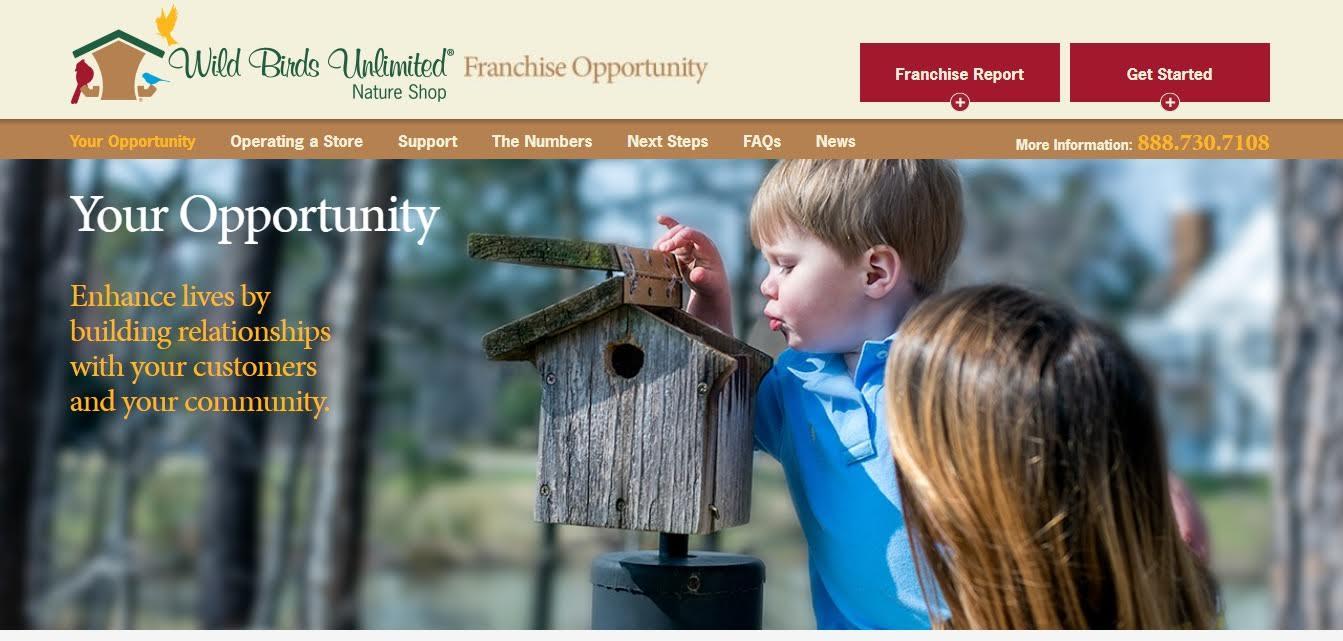 Wild Birds Unlimited homepage