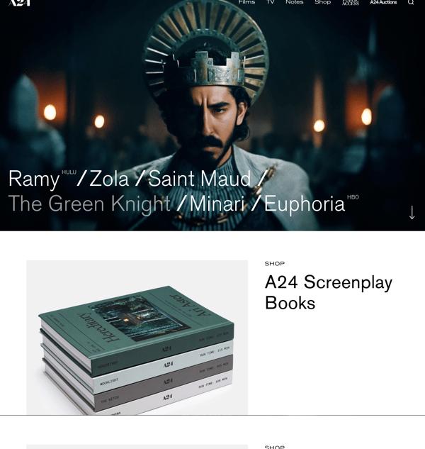a24-films-homepage