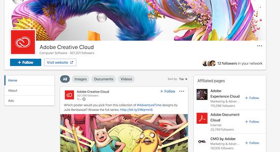 adobe-creative-cloud-showcase-page