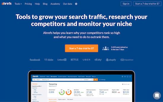 ahrefs-homepage