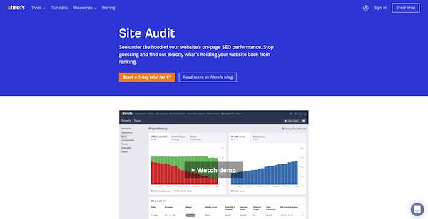 ahrefs-site-audit