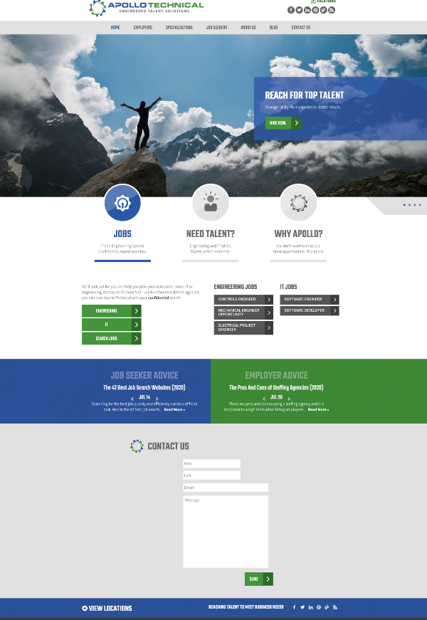 apollotechnical-website