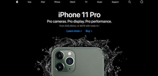 apple-homepage-tone-example