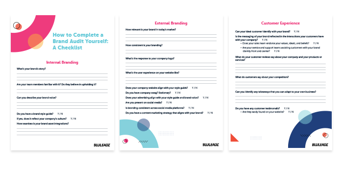 How To Complete A Brand Audit Yourself W Examples Checklist