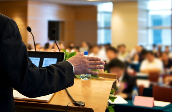 Generating leads at speaking engagements