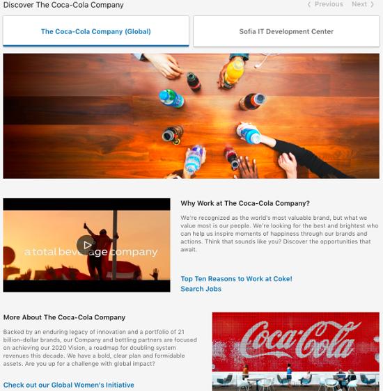 coca-cola-life-linkedin-page