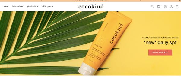 coco-kind-homepage