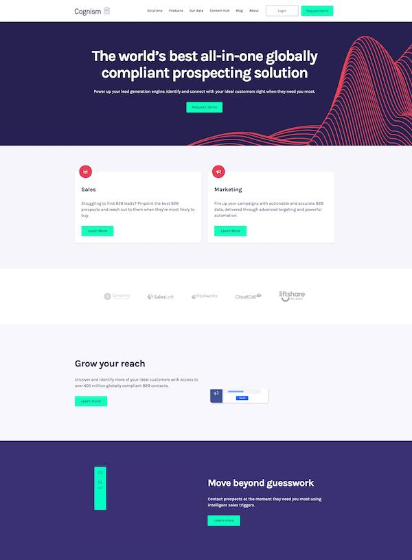 cognism-homepage