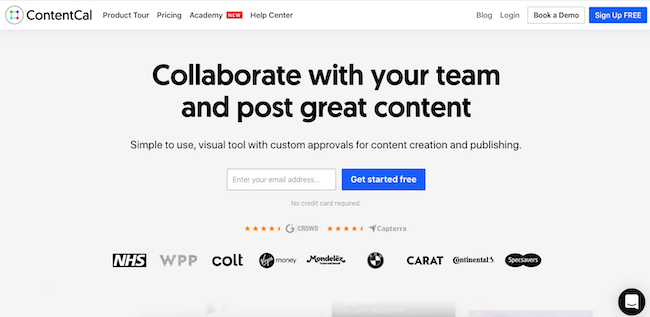 contentcal-homepage