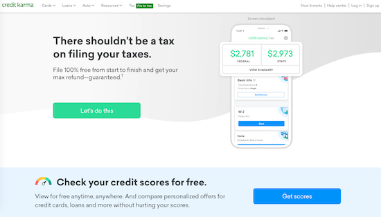 credit-karma-homepage