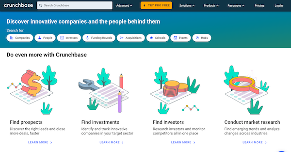 crunchbase-website