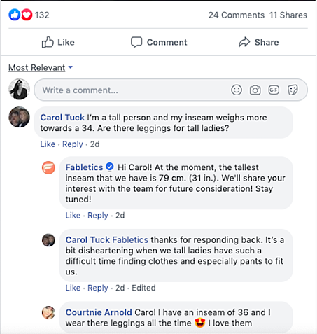 fabletics-community