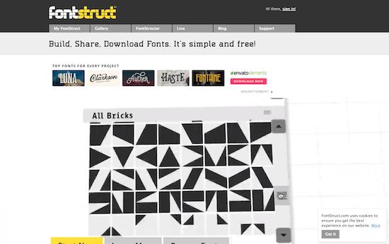 fontstruct-homepage