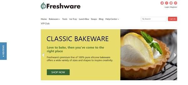 freshware-homepage
