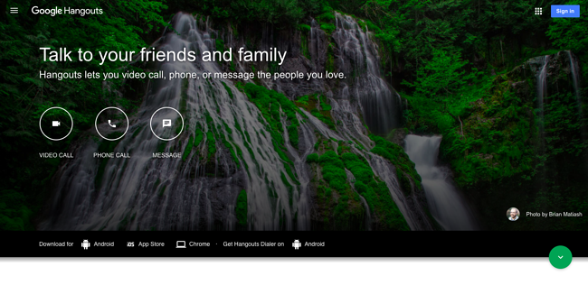 google-hangouts-homepage