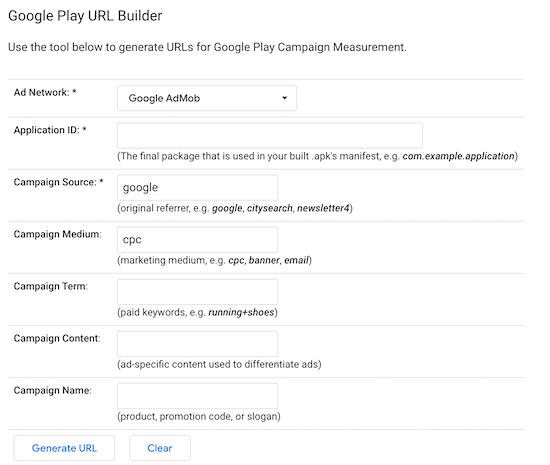 google-play-url-builder