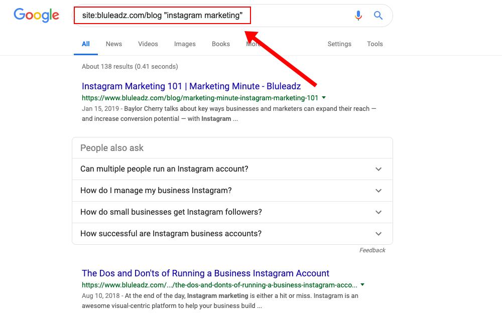 google-search-instagram-marketing